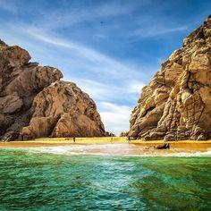 Lover's #Beach. #Playa del #Amor #Cabo #CaboSanLucas #LosCabos #BajaCaliforniaSur #VisitBajaSur #travel #vacation