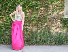 How to Wear a Party Skirt - Inspired by This