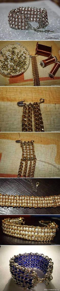 Ideias para fazer bijuterias em casa [2] - Opinando Moda