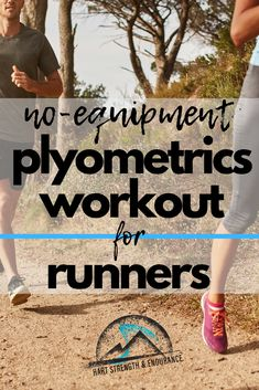 No-Equipment Plyometrics Workout for Runners Want to become a stronger, faster runner? Give this No-Equipment Plyometrics Workout for Runners a try! Cross Training For Runners, Strength Training For Runners, Strength Workout, Strength Exercises For Runners, Race Training, Running Training, Running Tips, Running Humor, Training Equipment