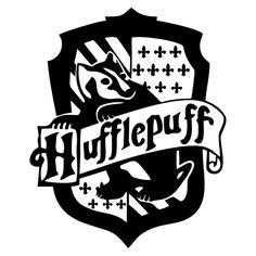 Harry porter Hufflepuff Die Cut Vinyl Decal PV2026