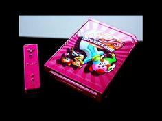 Custom Kirby Wii Console