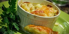 The Cook and the Chef - Pastie, Rick Steins Fish Pastie Fish Recipes, Seafood Recipes, Rick Stein, Crab Stuffed Shrimp, Diced Potatoes, Chips Recipe, Fish And Chips, Tarts, Macaroni And Cheese
