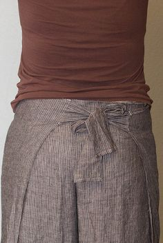 wrap pants idea.they don't have to only be tropical looking.