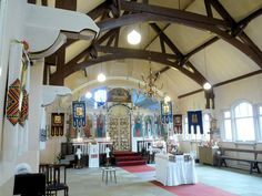 OLDHAM - Interior - Ukrainian Autocephalous Orthodox Church of St. Volodymyr