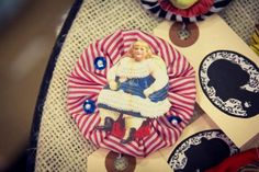 Circus Brooch  Fat Lady by ecraftic on Etsy, $26.00