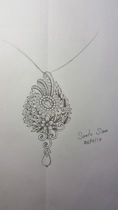 Pendant Set, Pendant Jewelry, Photo Jewelry, Jewelry Art, Fashion Design Software, Jewelry Design Drawing, Unique Drawings, Fancy Jewellery, Jewelry Illustration