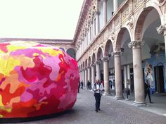 Paola Navone installation at the Università Statale for the #MDW2014