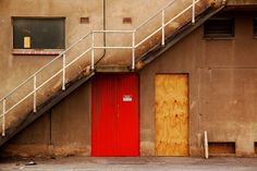 Industrial Photography, Red Door, Warehouse, Industrial Home Decor, Urban Photography, 5 x 7 Fine Art Photography on Etsy, $17.71 AUD