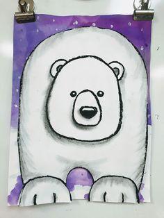 grade art lessons Elements of the Art Room: grade Polar Bears, elementary art lesson, winter art lesson for kids, art lesson for kids, Art Lessons For Kids, Art Lessons Elementary, Art For Kids, Elementary Art Education, Elementary Art Rooms, Art 2nd Grade, Grade 2, Art D'ours, Arte Elemental