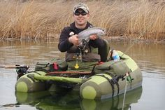 Cumberland Inflatable Fishing Float Tube