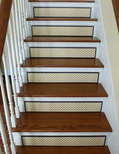 Staircase / Stair Riser / Gold Home Decor / All That Glitters Is Gold! New