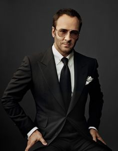 Tom Ford: the 5 o'clock shadow behind Gucci and his own Tom Ford  #fashion label   (Martin Schoeller, @Meg Harper Bazaar)