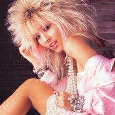 #SteffanieBorges #80s #women #eighties #anos80 #los80 #annees80 #loveblondes #stevany #showya #hairmetal #hardrock #hardnheavy #womansday #womenofthe80s #steffanie #diadamulher