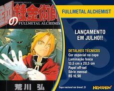 Fullmetal Alchemist pela JBC