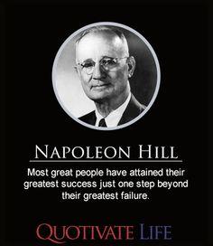 Napoleon Hill #Quotes By #NapoleonHill http://quotivatelife.com/napoleon-hill/