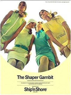 60s And 70s Fashion, Teen Fashion, Vintage Fashion, Ladies Fashion, Retro Advertising, Vintage Advertisements, Vintage Ads, Colleen Corby, Vintage Outfits