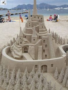 Beaches, and sandcastles