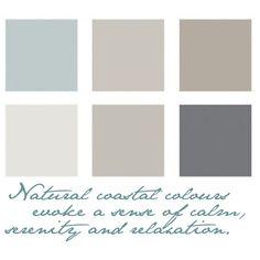 Naturals by coastalstyleblogspot, via Polyvore GREAT SIGHT under soft neutrals a basement ceiling idea !!!!