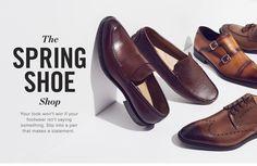 Shoe Poster, Clothing Store Design, Men's Shoes, Dress Shoes, Shoes Photo, Clothing Photography, Mens Fashion Shoes, Slingback Pump, Spring Shoes