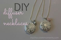 Diffuser necklaces are fabulous gifts, sign up incentives, giveaways, or make 'n take activities for your team. They are also incredibly easy to make!