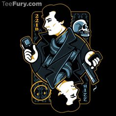 Sleuth of Baker Street by WinterArtwork - Shirt sold on October 30th at http://teefury.com - More by the artist at https://www.facebook.com/WinterArtworkIllustration