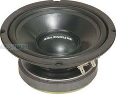 """Selenium 8W4P SELENIUM 8"""" 300W 8 OHM WOOFER by Selenium. $57.29. Professional 8"""" woofer for PA tone level performance (Inv Code: W04). (Inv Code: W04)"""