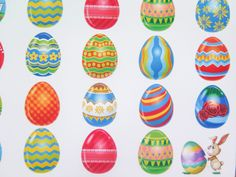 Easter Eggs Stickers Perfect for the Erin by DreamBigandPlan