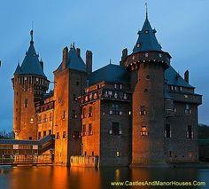Kasteel de Haar (Castle De Haar), near Haarzuilens, Province of Utrecht, Netherlands