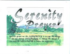 Items similar to The Serenity Prayer on Rocky Mountain Foot Hills image on Etsy Courage To Change, Serenity Prayer, Cool Cards, Rocky Mountains, Prayers, Image, Recovery, Etsy, Handmade