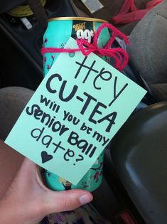 I would die because I love Arizona tea!! Best way to ask someone!!