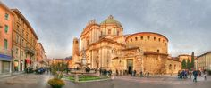Brescia - Piazza Paolo VI. My only hotel request would be residence Paola vi