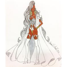 """""""When I dare to be powerful – to use my strength in the service of my vision, then it becomes less and less important whether I am afraid. """" – Audre Lorde. Black is Beautiful Challenge Day 8. #ateliernewmanhowell #inspiration #motivation #storm #xmen #wisdom #fashionillustration #cosplay #fashion #design #fashionblog #fashionaddict #fashionblogger #fashionista #illustration #imagine #create #couture #black #blackisbeautiful"""