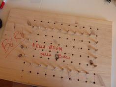 Nella valigia della Buru: Telaio in legno per lavori a maglia: ecco come costuirlo