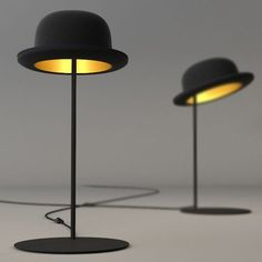 Jeeves Hat Table Lamp