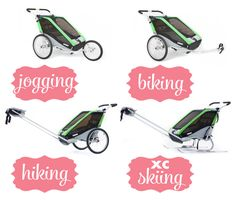 Daily Mom » Stroller Guide: Thule Chariot Cheetah 2 Multi-sport Double Stroller
