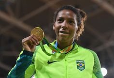 A gold medal-winning Brazilian judo champion has come out publicly as gay in an interview during the Rio Olympics.