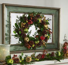 H209419 Beaded Fruit Wreath -http://qvc.co/-Shop-ValerieParrHill