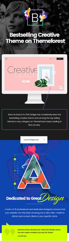 Bridge - Creative Multi-Purpose WordPress Theme #background video #blog #business • Download ➝ https://themeforest.net/item/bridge-creative-multipurpose-wordpress-theme/7315054?ref=pxcr