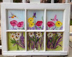 CLEARANCE-Checkered Window Frame Reclaimed teak by DeCorPasadena