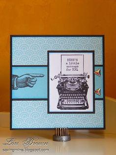 Saving My...: Just My Type! #PaperFundamentals #Whimsy