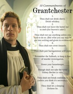 GOD BLESS. James Norton as Sidney Chambers