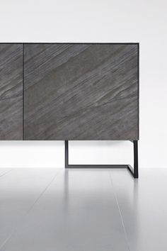 Contemporary sideboard with oxidized door fronts Sideboard Modern, Sideboard Cabinet, Cabinet Furniture, Design Furniture, Modern Furniture, Etagere Design, Joinery Details, Furniture Inspiration, Interiores Design
