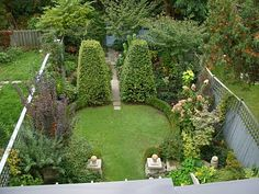 Great design, small garden feels bigger