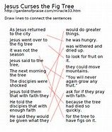 Image result for parable of the fig tree printable crossword