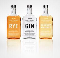 rye. gin. bourbon.