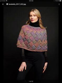 Cape Pattern, Stockinette, Needles Sizes, Yarn Crafts, Knitwear, Fancy, Warm, Knitting, Beautiful