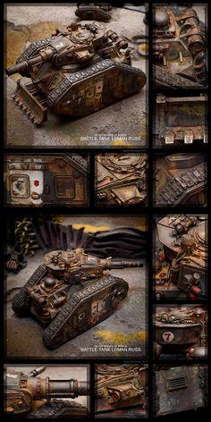 Death Korps of Krieg Leman Russ #1