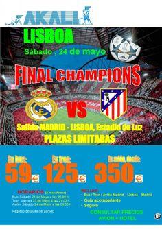 Final Champions Lisboa ultimo minuto - http://zocotours.com/final-champions-lisboa-ultimo-minuto/