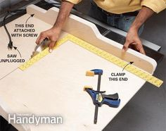 Build a Table Saw Sled